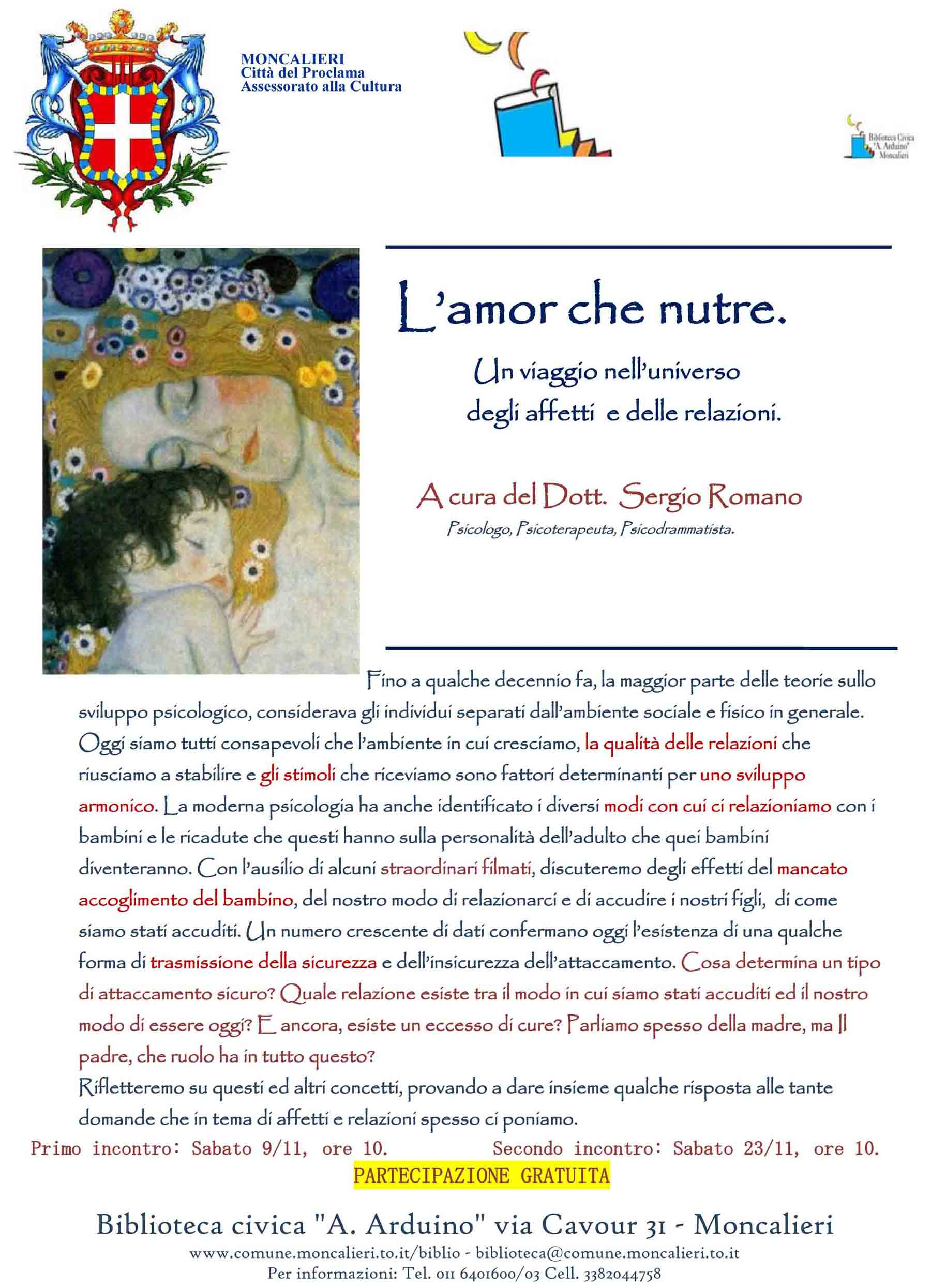 poster amor che nutre